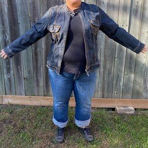  2/$30 Additional Elle moto Jean jacket